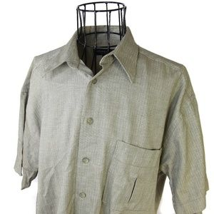 VTG YSL Pour Homme Button Down Shirt